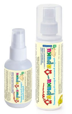Спрей от комаров для детей от 2 лет «Дарики-Дарики»