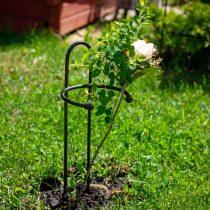 Низкая опора для роз и цветов