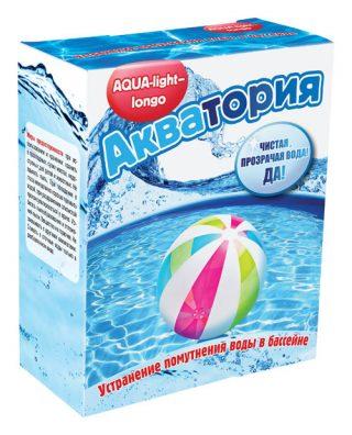 Препарат «Акватория: Aqua-light – longo» для бассейна