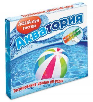 Препарат «Акватория: AQUA-пул-тестер» для бассейна