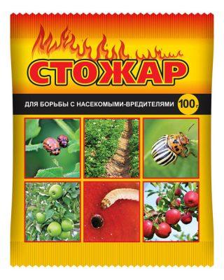Препарат для борьбы с садовыми вредителями «Стожар»