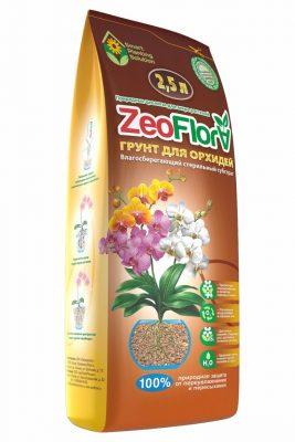 Влагорегулирующий грунт для орхидей «ЦеоФлора»