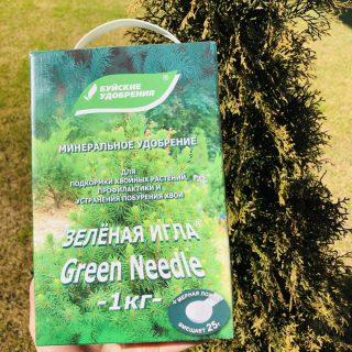 Cпециализированное удобрение для хвойных «Зелёная игла»