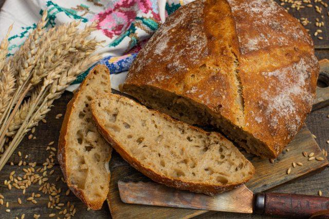 Домашний хлеб на пшеничной закваске