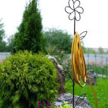 Держатель для шланга в виде цветка