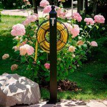 Садовая колонка с круглым держателем шланга