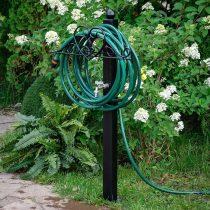 Садовый держатель для шланга с колонкой в виде сердца