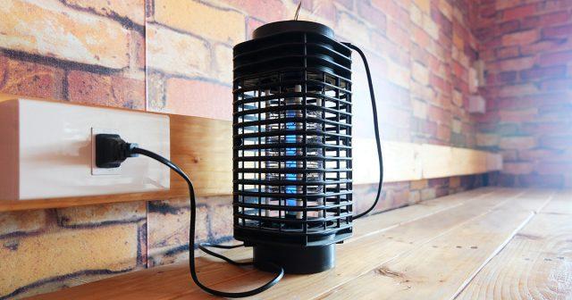Электрическая лампа-ловушка для мух