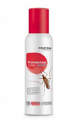 Защитный спрей от комаров «Комароед Супер»