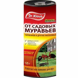 Гранулированное средство от муравьев «Dr.Klaus»