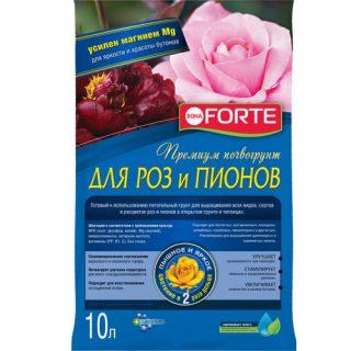 «Премиум почвогрунт для роз и пионов Bona Forte»