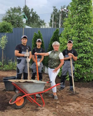 Команда проекта «Сад с нуля»