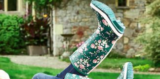 Держим садовую обувь в чистоте